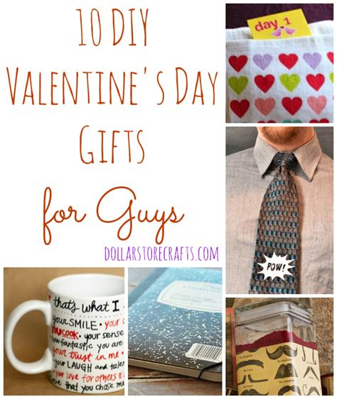 valentines gift ideas for guys 10 diy s day gifts for guys 187 dollar store crafts