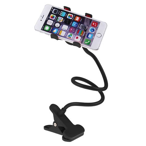 cell phone holder for bed lazy desktop bed car stand mount clip holder for cell