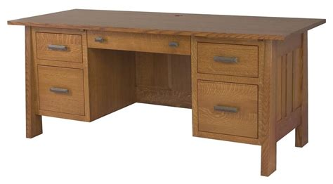 Amish Executive Desk by Amish Freemont Mission Executive Desk