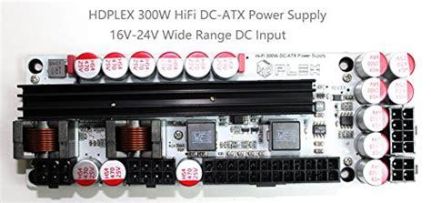 Microwave Sanyo 400w hdplex 300w hi fi dc atx power supply wide 16v 24v dc