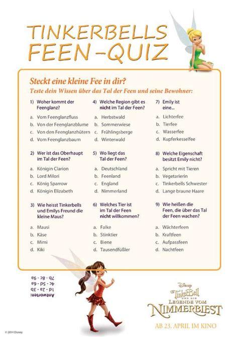 Film Quiz Zum Ausdrucken | ausmalbild quiz zur allgemeinbildung tinkerbells feen