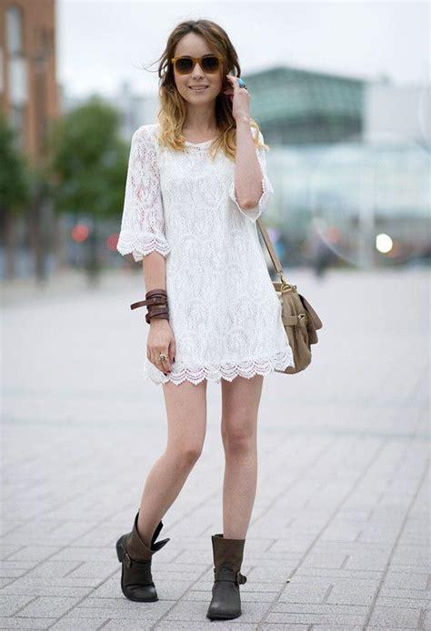 Summer Dress Pantai Sundress Mini Dress Ond Spagstrap Wh как носить платье с ботинками сапогами и ботильонами