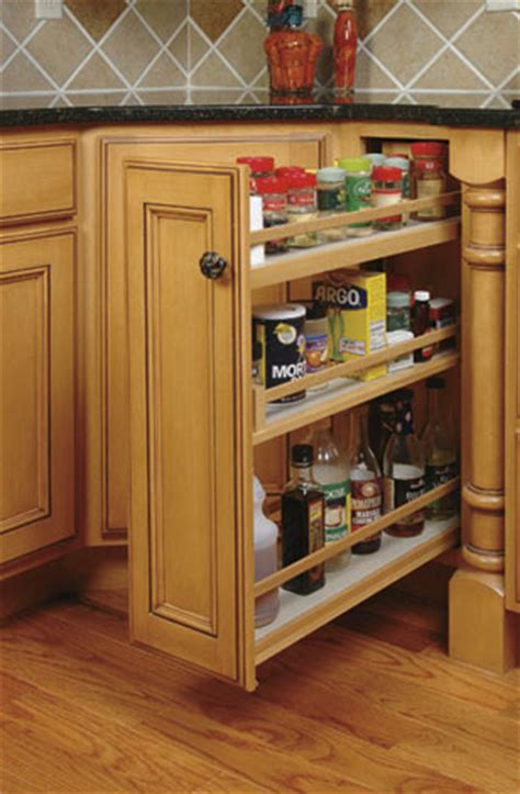 Kitchen Cabinets Spice Rack Pull Out Schrock Cabinets Shaker Furniture Mission Furniture
