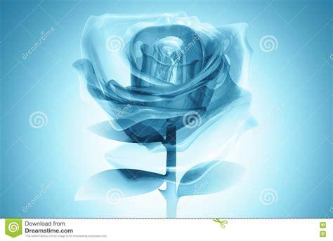 imagenes rosas de cristal azul de cristal color de rosa 3d imagen de archivo