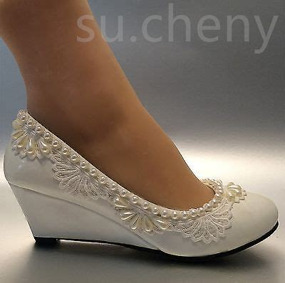 Ivory Wedding Wedges by Best 25 Wedge Wedding Shoes Ideas On Bridal