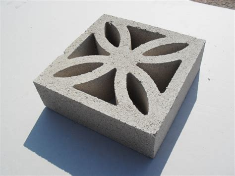 leaf screen concrete decorative garden wall blocks