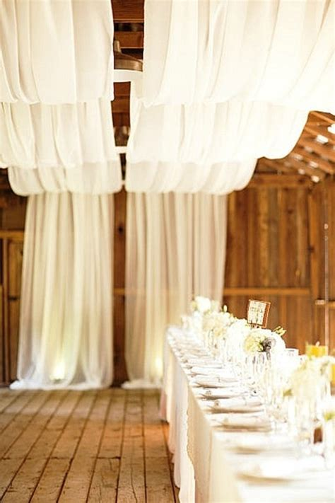 decor and draping 9 gorgeous decorating ideas for a barn wedding wedding