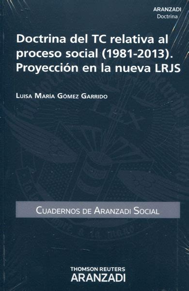 libro social selling la nueva librer 237 a dykinson doctrina del tc relativa al proceso social 1981 2013 proyecci 243 n en la