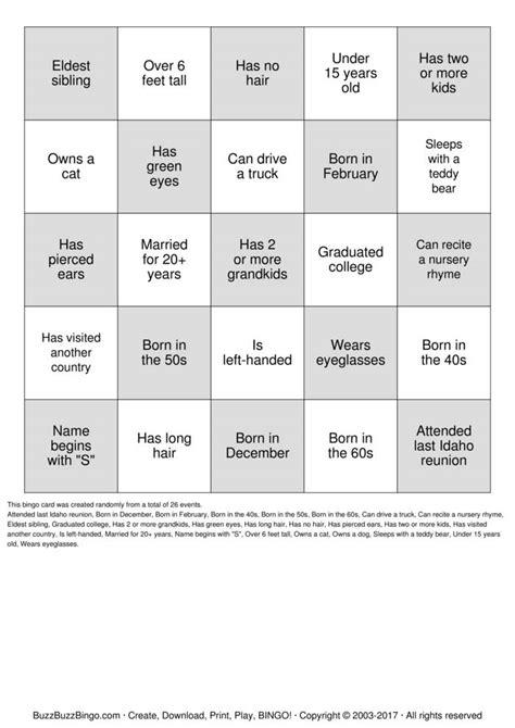 human bingo cards template human bingo sheet pictures to pin on pinsdaddy