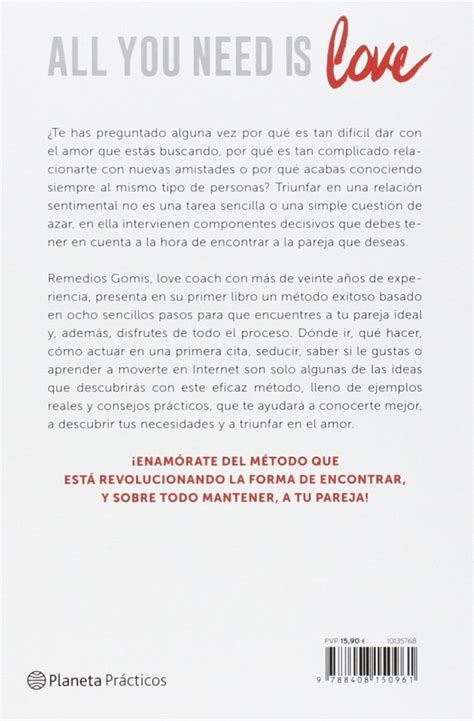 libro all you need is all you need is love remedios gomis libros m 225 s vendidos