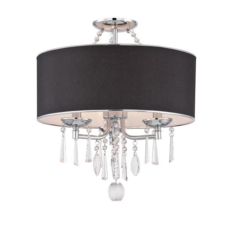 black flush mount ceiling light black flush mount chandelier best home design 2018