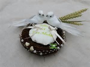porte alliance mariage original nid colombes paix d 233 cor