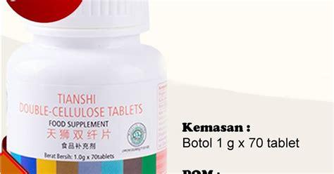 Cellulose Tablets Tablet Serat Ganda Tiens obat ambeien pasuruan tiens cellulose tablets