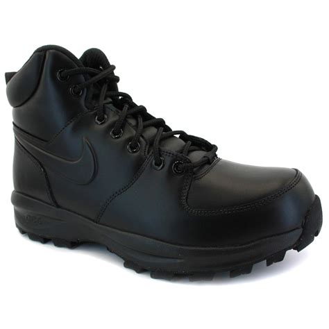acg nike boots nike manoa acg mens leather boots black
