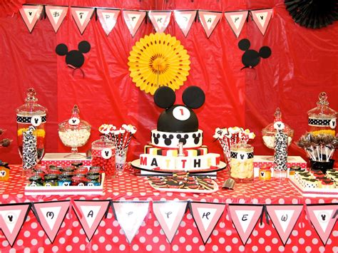 disney themed decorations ideas mickey mouse themed birthday