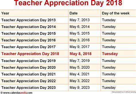 Appreciation Day Calendar Appreciation Day Calendar 2017 My