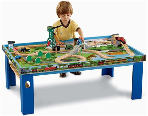 And Friends Table by Friends Wooden Railway Wooden Railway Play Table