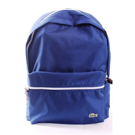 small backpack lacoste small backpack luggage bags from gibbs menswear uk
