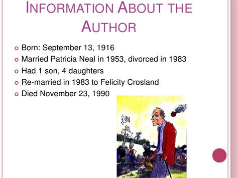 roald dahl biography for students roald dahl
