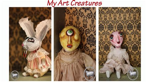 Creepy Handmade Dolls - artist creepy handmade dolls creepy artists