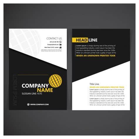 folder cover design vector free download corporative folder design vector free download