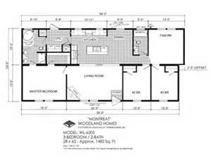 deer valley mobile home floor plans novus wl 6205 2x6 deer valley homebuilders