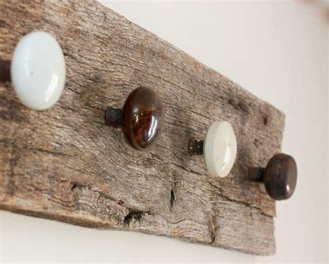 door knob coat rack barnwood coat rack antique door knobs