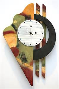 Art Wall Clock Wall Art Clocks Contemporary Artistic Metal Clocks
