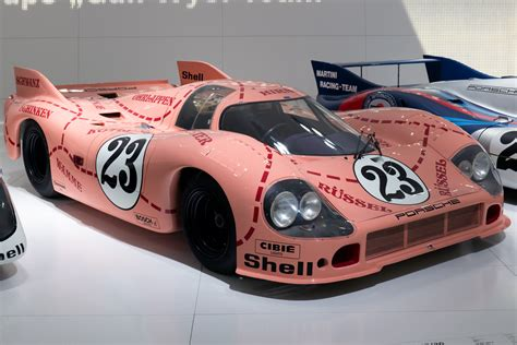 Porsche 917 Pink Pig by Classic Livery For Porsche Rsrs Participating In The 24