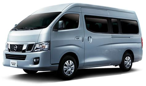 nissan urvan 2014 the all new nissan nv350 urvan review class leading