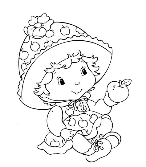 Strawberry Coloring Pages Coloring Pages To Print Baby Color Pages