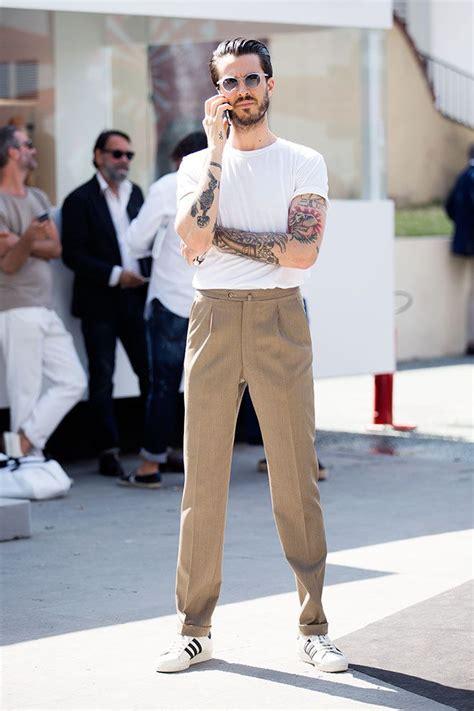 8 Menswear Inspired Looks by Looks From Pitti Uomo Menswear Tradeshow