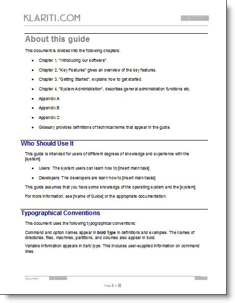 manual user guide