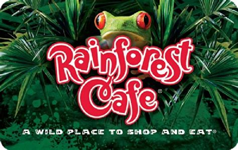 Rainforest Cafe Gift Cards - rainforest cafe 50 gift card shop giftcards