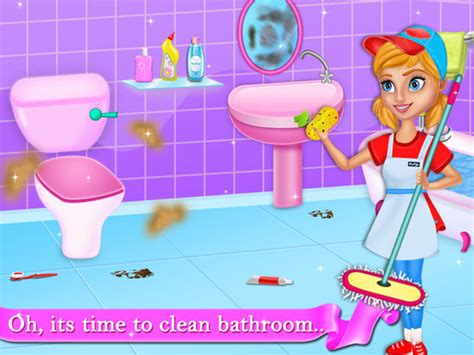 clean bathroom app clean bathroom app app shopper kids hotel room cleanning games