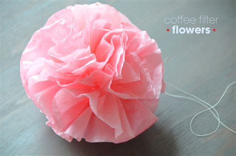 diy beautiful coffee filter flowers diy and ideas
