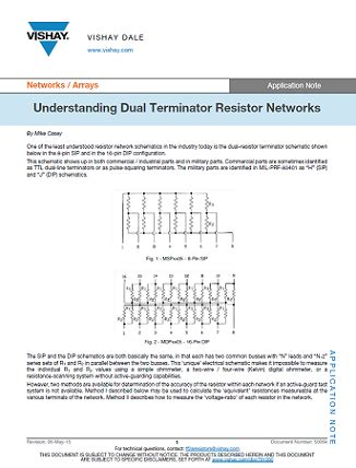 hart terminating resistor dual termination resistor network 28 images op what is the importance of the 50 omega