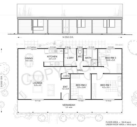3 met kit homes 3 bedroom steel frame kit home