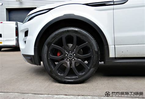 land rover evoque black modified range rover evoque with custom finished smokey black