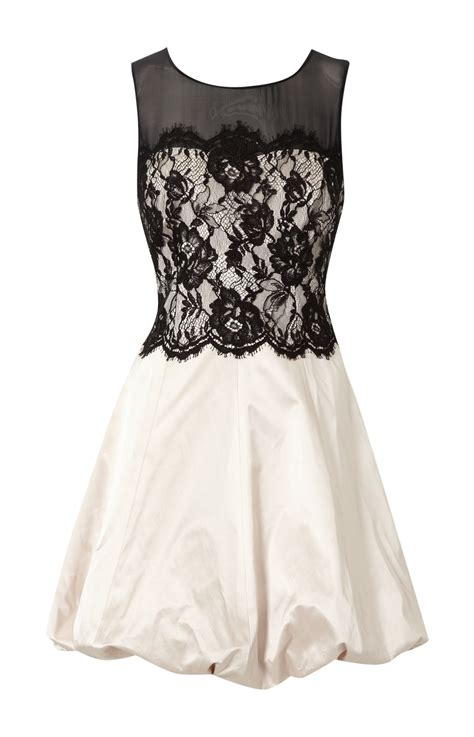 White And Black Dress white lace dress dressed up
