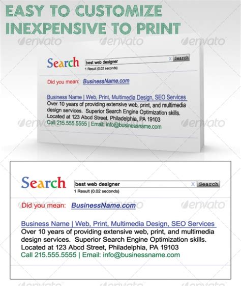 result card template cardview net business card visit card design inspiration gallery 187 search results business