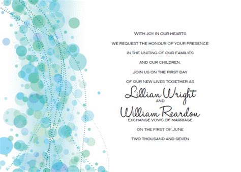wedding invitation layout blue printable wedding invitation templates break out the blue