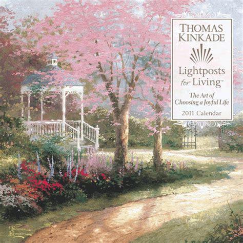 1449492630 thomas kinkade lightposts for living lightposts for living 2011 wall calendar thomas