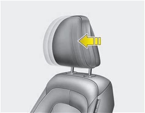 Kia Optima Headrest Kia Optima Headrest Automatic Adjustment If Equipped