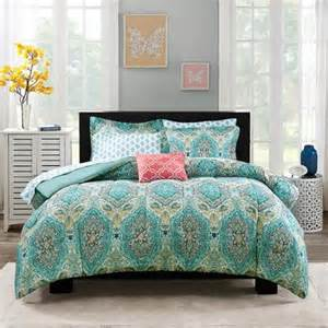 Walmart King Size Bed In A Bag Mainstays Monique Paisley Coordinated Bedding Set