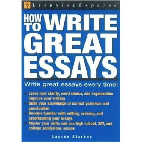 Best Book For Essay Writing by Great Essay Writing 187 Original Content