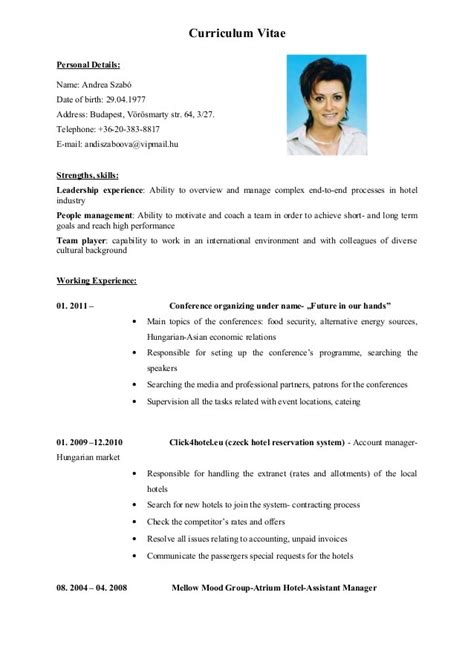 templates of cv in english english cv cv perfect