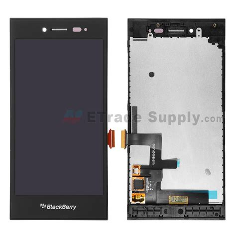 Spare Part Blackberry Harga blackberry leap lcd screen and digitizer assembly with frame black etrade supply
