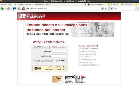 banco en linea banorte credito sindicado banorte por internet prestamos faciles