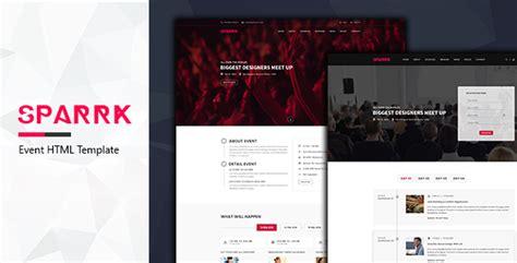 Sparrk Event Bootstrap Template html css js retail sparrk event bootstrap template